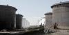 미국 오클라호마 주 쿠싱의 원유 저장 탱크