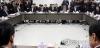 유일호 부총리 겸 기획재정부 장관(오른쪽에서 두 번째)이 23일 오전 국회 정책위회의실에서 열린 '긴급 민생경제현안 종합점검회의'에서 인사말을 하고 있다. 2016.12.23