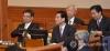 박근혜 대통령 탄핵심판 사건의 2차 변론기일인 5일 오전 서울 종로구 재동 헌법재판소 대심판정에서 이중환 변호사 등 피청구인 법률대리인단이 자리에 앉고 있다. 2017.1.5
