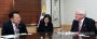 유일호 부총리 겸 기획재정부 장관이 20일 정부서울청사에서 앤드류 팜리 런던시티 시장과 면담하고 있다. 2017.2.20 [기획재정부 제공=연합뉴스