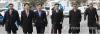 탄핵심판 16차 변론이 열린 22일 오전 서울 종로구 재동 헌법재판소에서 국회 탄핵소추위원들과 대통령 변호인단(오른쪽 사진)이 각각 대심판정으로 향하고 있다. 2017.2.22