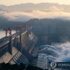 중국 홍수 3호 방류하는 싼샤댐