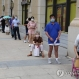 코로나19 검사 기다리는 중국 시민들