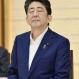 도교 교도=연합뉴스) 아베 신조 일본 총리가 3일 오후 관저에서 열린 당정회의에서 야마구치 나쓰오 공명당 대표가 발언하는 동안 눈을 감고 있다.